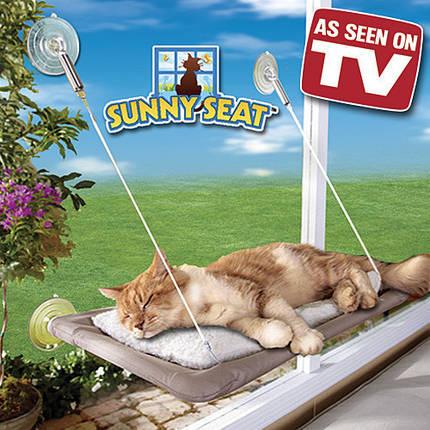 Оконная кровать для кота Sunny Seat Cat Window Bed, фото 2