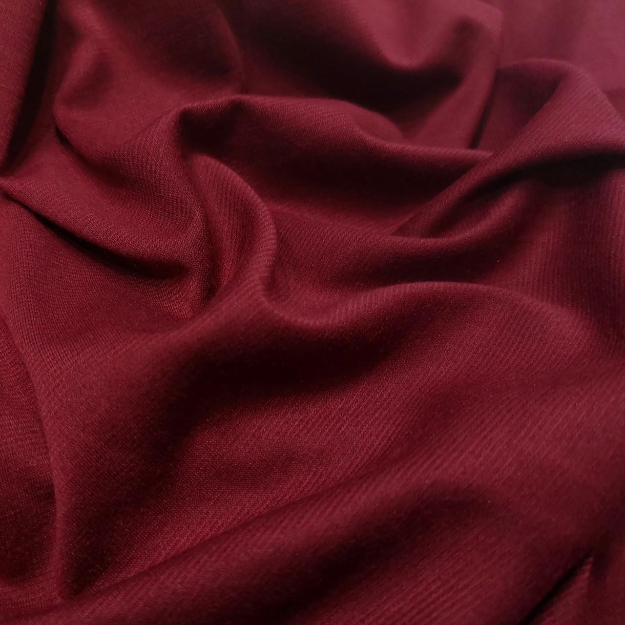 Французский трикотаж бордовый