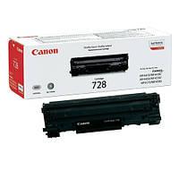 Картридж Canon 728 Black лицензия Пустой! Первопроходец!