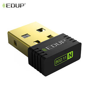 Mini Wifi Adapter 802.11N EDUP EP-N8553 150 Мбит/с