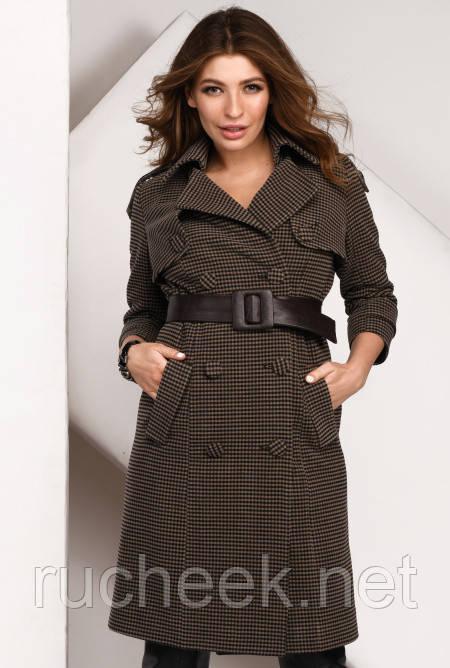 b58a988c635 Купить Модное весеннее шерстяное пальто р-ры 42-48 X-Woyz PL-8831 в ...