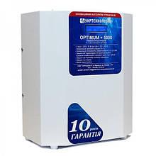 Стабилизатор напряжения OPTIMUM+ 5000(HV)(LV) Укртехнология