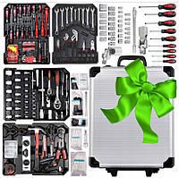 Набор инструмента в чемодане 710 предметов