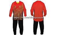 Вратарская форма (кофта с длинным рукавом + штаны) CO_022_R красная