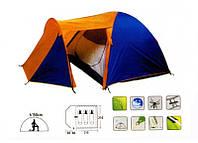 Туристическая палатка Сoleman 1504, 3-местная двухслойная