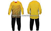 Вратарская форма (кофта с длинным рукавом + штаны) CO_022_Y желтая