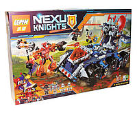 Конструктор Lepin серия Nexo Knights Башенный тягач Акселя 704 детали 14022