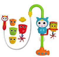 Игрушка для купания в ванной, Игра ZD001A для купания, фонтанчик с формочками