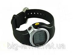 Часы пульсометр для спорта  Черный