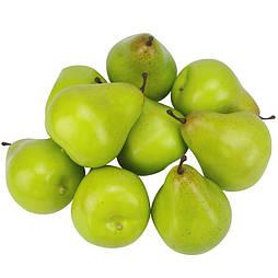 Искусственная  груша муляж зелёная