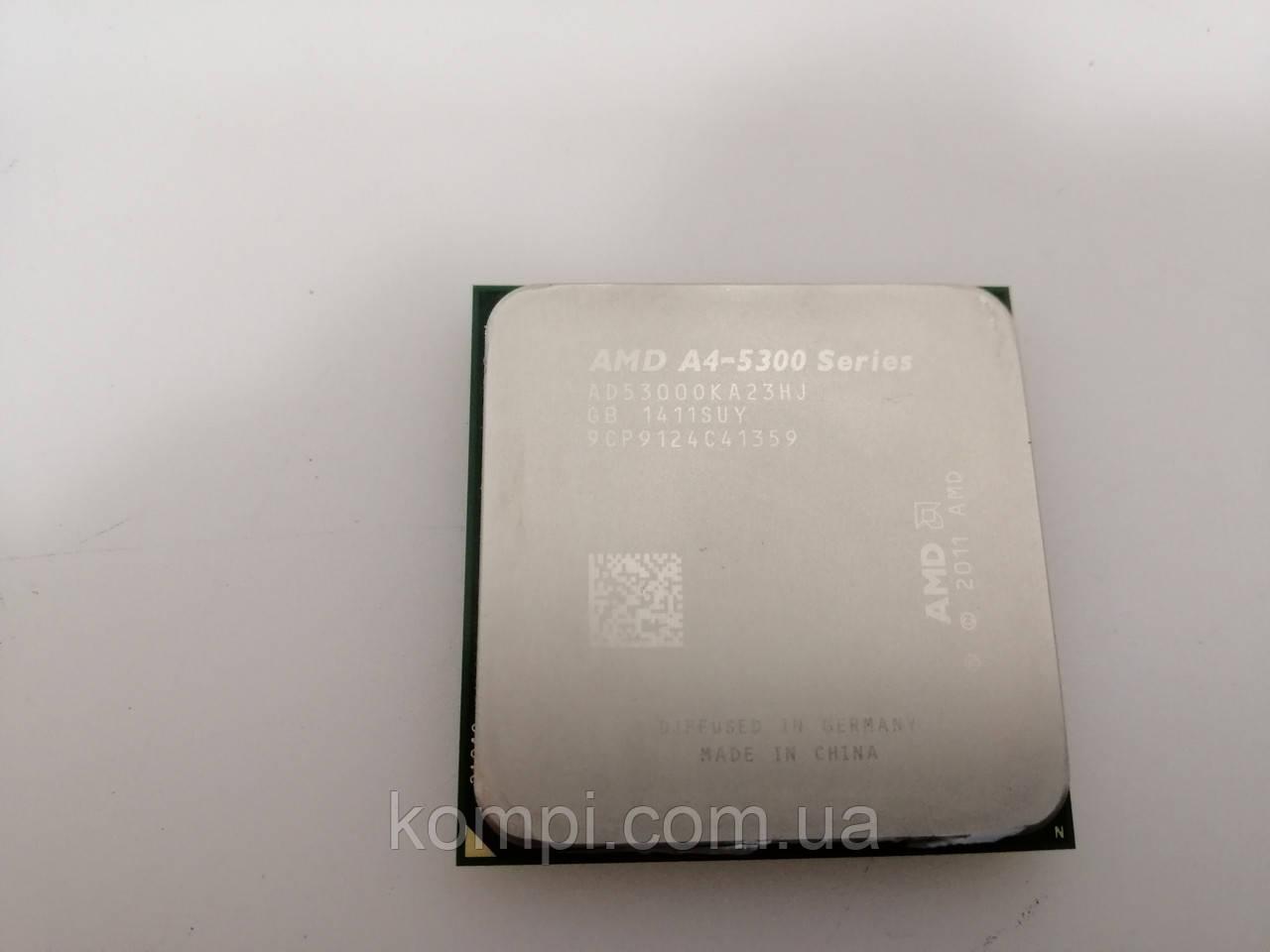 Процессор AMD A4-5300K, 2 ядра 3.4ГГц, FM2