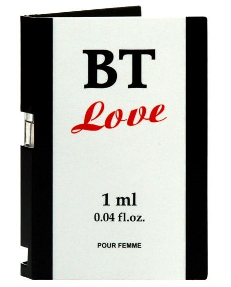 Пробник духов с феромонами BT Love Pour Femme, 1 мл