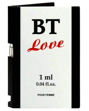 Пробник духов с феромонами BT Love Pour Femme, 1 мл, фото 2
