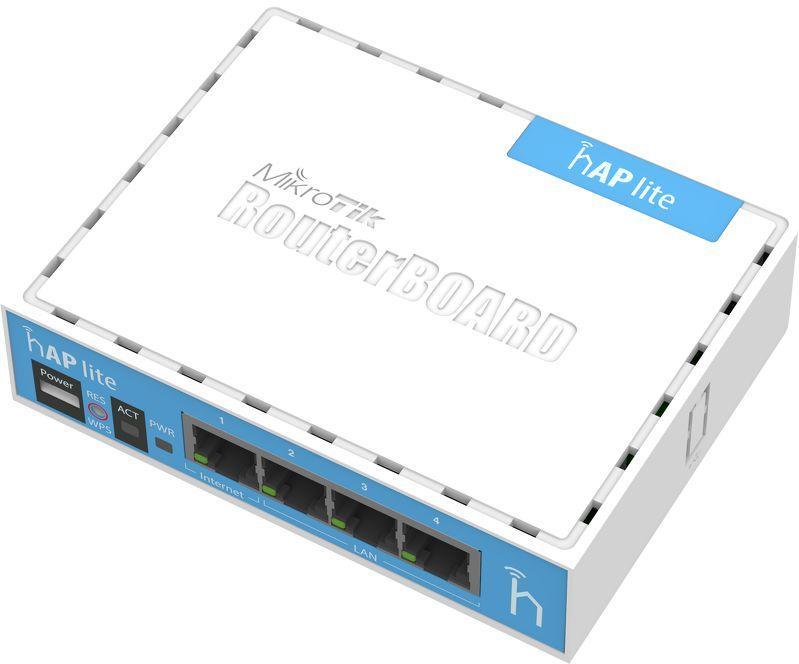 Роутер Mikrotik hAP lite RB941-2nD 4 LAN 10/100Mb