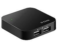 USB 2.0 концентратор D-Link DUB-H4