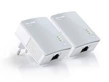 Адаптер TP-LINK TL-PA4010KIT организация локальной сети через сеть 220В