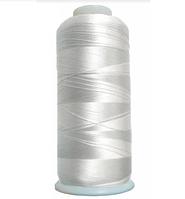 Нить Полиэстер 120D/2 6000ярд 3000 белая неокрашенная ПВ6-Rwt-6000