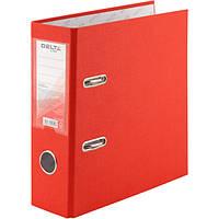 Папка-регистратор Delta A5 одностор. красная 7,5 см 1718-06С