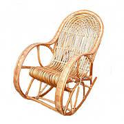 Кресло качалка из лозы Статусное
