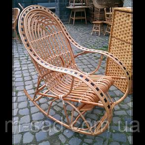 Кресло качалка из лозы Статусное, фото 2