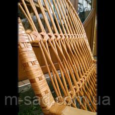 """Крісло качалка з лози """"Комфорт"""", фото 3"""