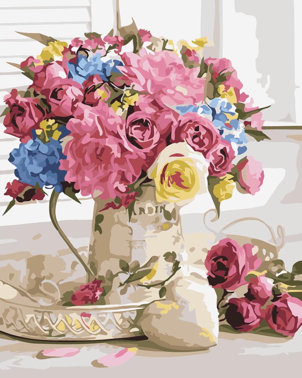Художественный творческий набор, картина по номерам Праздничный букет, 40x50 см, «Art Story» (AS0335)