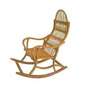 Кресло качалка плетеное Трансформер (разборное)