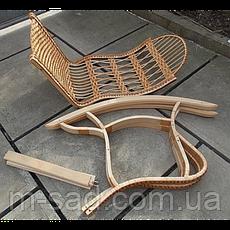 Кресло качалка плетеное Трансформер (разборное), фото 3