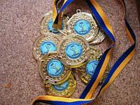 Медаль сувенірна медаль для выпускников начальной школы