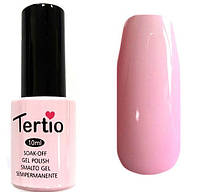 Гель-лак Tertio 105  Молочный розовый, эмалевый плотный., 10 мл.