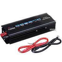 Инвертор TRUMAN 12V 1500W SSK UKC AC/DC black box ZKN