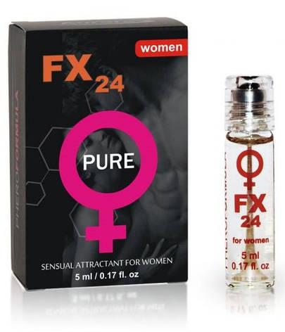 Женские духи с феромонами FX24 Pure, 5 мл, фото 2