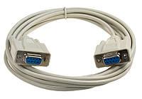 Кабель COM RS-232 нуль-модемный мама/мама 1м DB9F