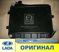 Радиатор водяного охлаждения МЕДНЫЙ ВАЗ 2103 2106 (2-х рядн)  (пр-во г.Оренбург)