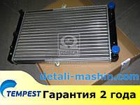 Радиатор водяного охлаждения ВАЗ 2108 2109 21099 2113 2114 2115 карбюратор (TEMPEST)