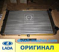 Радиатор водяного охлаждения ВАЗ 2108 2109 21099 2113 2114 2115 карбюратор ДААЗ