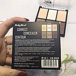 Палетка консилеров Ruby Rose Conceale Correct Contour Palette, фото 3