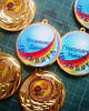 Медаль сувенірна медаль для выпускников детского сада