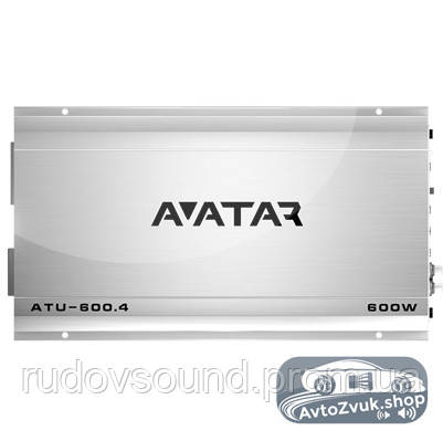 Усилитель Avatar ATU-600.4 (4 канала | 80w в 4Ω | 150w в 2Ω | Класс:AB)