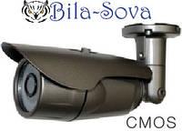 Видеокамера цветная VLC-8100W всепогодная, 1000 ТВЛ, ИК 25м, f=3.6мм, CMOS, OSD меню, Light Vision