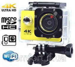 Экшн камера SJ7000R-H9 4К с пультом, фото 2