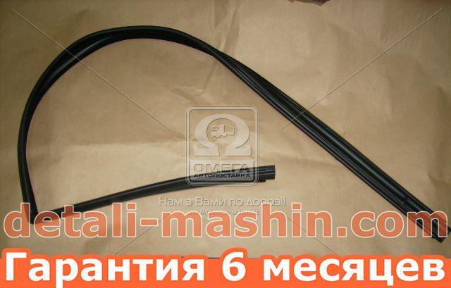 Уплотнитель стекла опускного ВАЗ 2108, 2113, 2114, 2115 переднего левый (пр-во БРТ) бархотка 2108-6103293Р