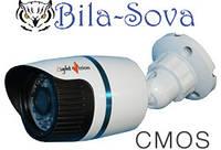 Видеокамера цветная VLC-1080W всепогодная, 800 ТВЛ, ИК 15м, f=2,8мм, CMOS, Light Vision