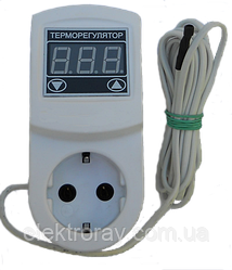 Терморегулятор МТР-2 16А N3 цифровой с заземлением DigiCOP