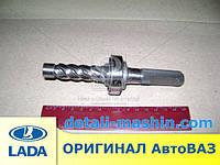 Валик рулевой рейки 2110, 2111, 2112 косой зуб с подшипником (червяк) АвтоВаз