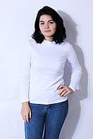 Гольф женский белый размер 42-44