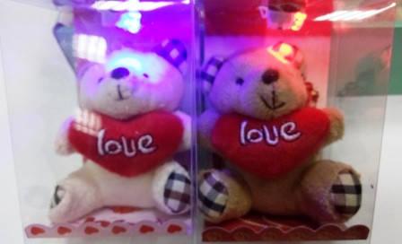 """Сувенир - Мишка с подсветкой """"От всего сердца"""" , фото 2"""