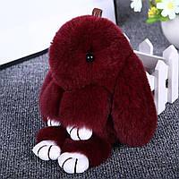 Брелок кролик Banny 20 см Бордовый (987429)