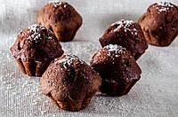 """Кекс """"Маффин шоколадный""""  с начинкой и ароматом топлёного  молока"""