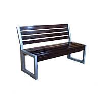 Скамейка для улицы Квадро Премиум усиленная